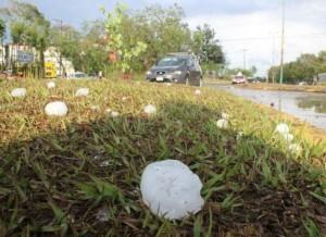 Atiende PC granizada en 9 municipios de Veracruz; no hay lesionados