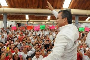 Rendirán protesta candidatos de Tabasco ante Cesar Camacho este sábado