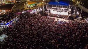 Lleno total concierto de Ha-Ash en el Teatro del Pueblo Coatza 2015