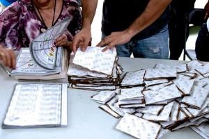 Conteo de votos del PERP en Yucatán