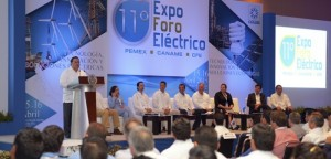 Inicia 11° Expo Foro Eléctrico Pemex-Caname-CFE 2015 en Veracruz