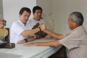 La gente de Centro, lo más valioso que tiene el municipio afirma Gerardo Gaudiano