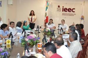 Alistan debate entre candidatos a la gubernatura de Campeche