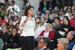 Realiza Ivonne Ortega campaña con los candidatos por Tabasco