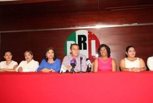 No quieren ser candidatas las juanitas del PRI en Tabasco