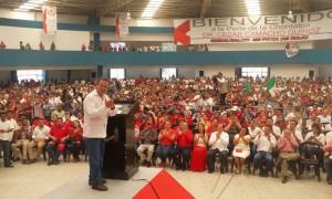 Que regrese la Paz a Tabasco: Cesar Camacho