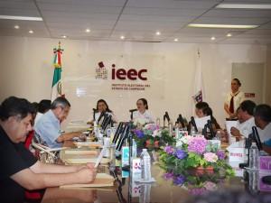 Aprueba IEEC lista de candidatos plurinominales en Campeche