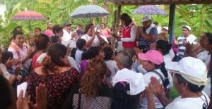 En el Congreso de la Unión la voz de las colonias Tabasco se escuchara fuerte: Liliana Madrigal