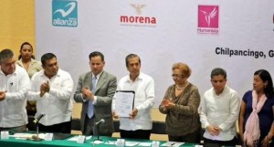 Candidatos firman pacto de civilidad en Guerrero