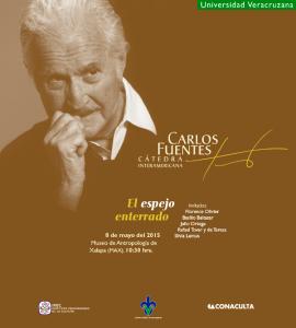 """Este viernes, la Cátedra """"Carlos Fuentes"""" 2015"""