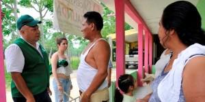 Habitantes de Guineo respaldan a José Manuel Cerna Gil