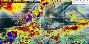 Pronostica SMN lluvias en gran parte del México