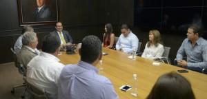 Se reúne gobernador Javier Duarte con el Comité Organizador de la Feria Ylang Ylang