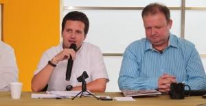 Presenta Gerardo Gaudiano a líderes empresariales su visión para Centro