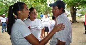 Vamos a legislar por el bienestar de Comalcalco: Ingrid Rosas