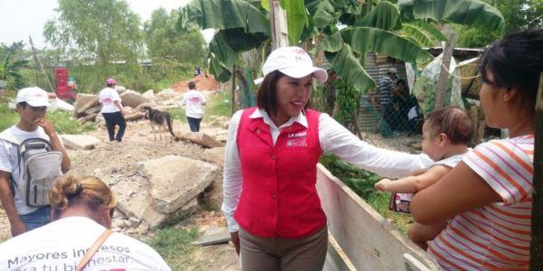 Liliana Madrigal va por el cuarto distrito