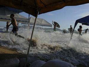 Mar de Fondo desde Chiapas hasta el sur de Sinaloa