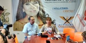 Los Ciudadanos recataremos Centro: Nelly Vargas