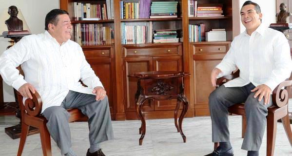 AMC con el gobernador FOB Campeche