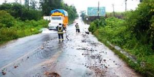Deja tormenta afectados en municipios de Veracruz