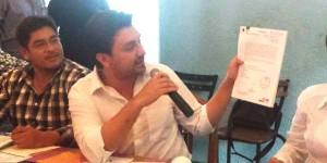 Fernando Castellanos 6 de 3, el candidato más transparente de Tuxlta