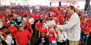 Asiste Cesar Camacho al cierre de campaña del PRI en Tabasco