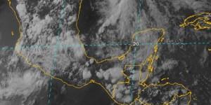 Disminuyen lluvias y aumentaran las temperaturas para la península de Yucatán