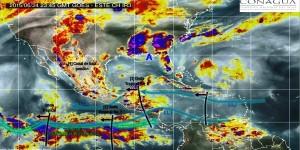 Las ondas tropicales 7 y 8 generaran lluvias en gran parte de México
