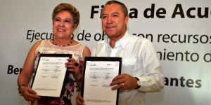 Destinan Núñez y Bertruy 37.8 mdp  para abatir miseria y desigualdad en Centro