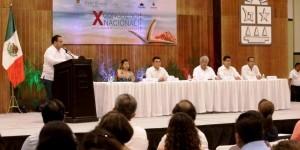 Asiste el gobernador al X Congreso Nacional de Defensoría Publicas de la República Mexicana
