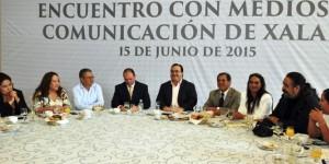 Veracruz, un estado con gran fortaleza institucional: Javier Duarte