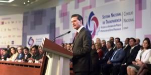 Gobierno de la República avanza en la transparencia y el combate a la corrupción: Enrique Peña Nieto