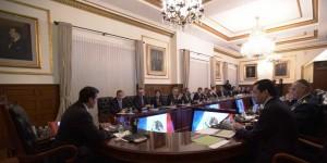 Se reúne el Presidente Enrique Peña Nieto con su Gabinete