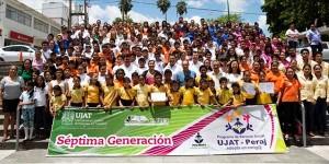 Egresa séptima generación de niños UJAT-Peraj
