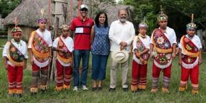 Visita Embajador de la India la zona Arqueológica de El Tajín