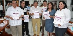 Entrega IEPC Tabasco constancia de mayoría de Diputados Plurinominales
