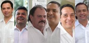 Destapan a los aspirantes por la gubernatura en Quintana Roo