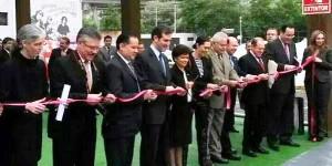 Inaugura el presidente del INE macro sala de prensa