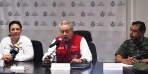 No hay ríos desbordados en Veracruz, pero se vigilan constantemente: PC