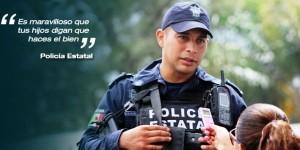 Es maravilloso que tus hijos digan que haces el bien: policía de Veracruz