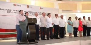 Celebra el gobernador de Quintana Roo a la base trabajadora con motivo del empleado