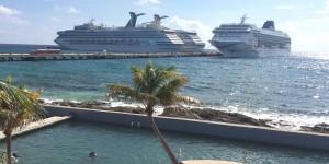 Llegaran del 13 al 19 de julio 17 Cruceros a Cozumel y Mahahual