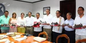 Recibe Alcalde de Coatzacoalcos a Legisladores locales