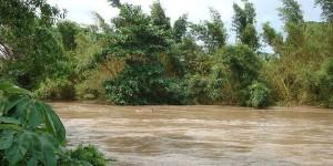 Vigila PC nivel del río San Juan en sur de Veracruz; ha rebasado su límite