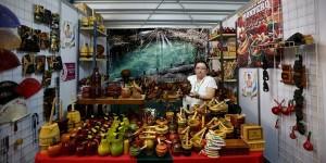 Evocación maya y lienzo multicolor visten de gala el Palacio de los Deportes