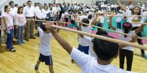El Gobernador de Yucatán visita sedes de Bienestar en Vacaciones 2015