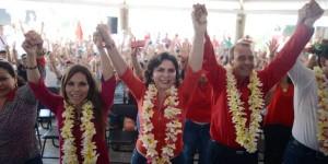 La unidad de las mujeres hará ganar a los candidatos del PRI en Chiapas: Ivonne Ortega
