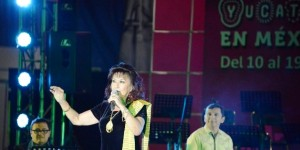 Voces de cantantes yucatecos deleitan al público del D.F