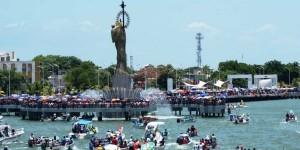 La Virgen del Carmen realiza tradicional recorrido por el mar