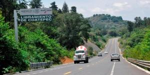 Recibe SIOP libramiento de Coatepec